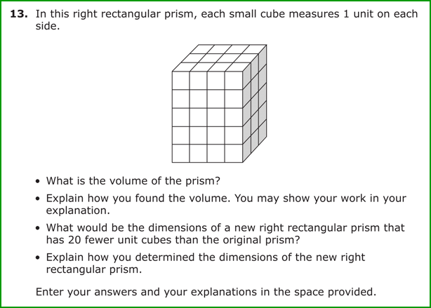 math worksheet : a walk in the parcc  part 1 math  big and small : Volume Word Problems 5th Grade